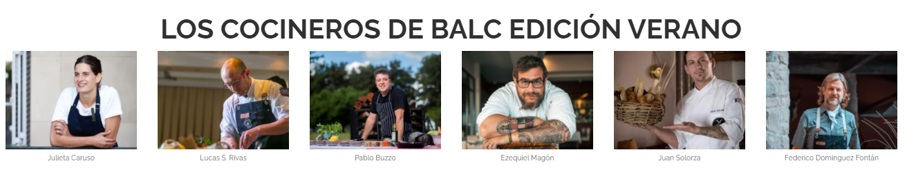 Cocineros Bariloche a la Carta